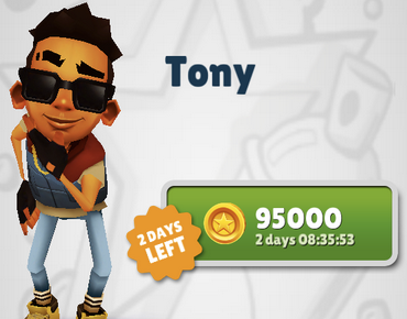 Tony - Limited Time Only Subway Surfers