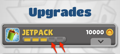 multiple upgrades - subway surfers